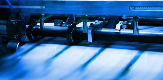 Wide Web Printing